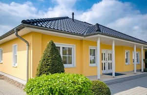 Bild: Bungalow-MV 02 Bauweise: Bau vor Ort, traditioneller Hausbau Bauart: Massivhaus, Porenbetonsteine