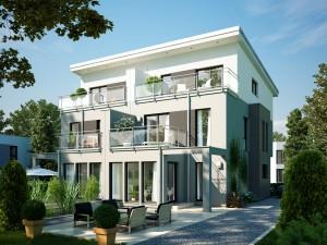 Bild: CELEBRATION 114 V5 XL Bauweise: Fertighaus, industrielle Vorfertigung Bauart: Holzhaus, Holztafelbau