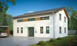 Bild: Konstanz Bauweise: Bau vor Ort, traditioneller Hausbau Bauart: Massivhaus, Ziegelsteine