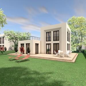 Bild: 5 x 5 H03-01 Bauweise: Bau vor Ort, traditioneller Hausbau Bauart: Massivhaus, Porenbetonsteine