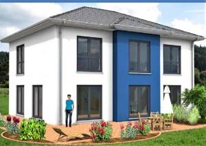 Bild: Mehrfamilien- /Generationenhaus mit Kell... Bauweise: Bau vor Ort, traditioneller Hausbau Bauart: Massivhaus, Porenbetonsteine