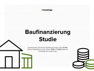 Aktuelle Baufinanzierungsstudie 2020 - Millennials werden sesshaft
