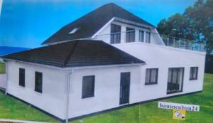 Bild: Landhausvilla Haus 2 Bauweise: Bau vor Ort, traditioneller Hausbau Bauart: Massivhaus, Porenbetonsteine
