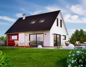 Bild: ADOS 200 Bauweise: Bau vor Ort, traditioneller Hausbau Bauart: Massivhaus, Porenbetonsteine