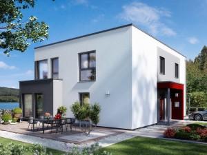 Bild: SOLUTION 204 V9 L Bauweise: Fertighaus, industrielle Vorfertigung Bauart: Holzhaus, Holztafelbau