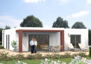 Bild: Landhaus Haus 4 Bungalow Bauweise: Bau vor Ort, traditioneller Hausbau Bauart: Massivhaus, Porenbetonsteine