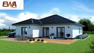 Bild: EWA Bungalow Sylt Bauweise: Bau vor Ort, traditioneller Hausbau Bauart: Massivhaus, Ziegelsteine