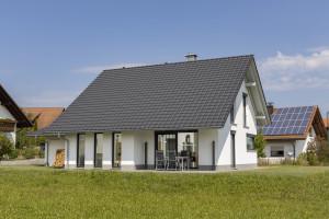 Bild: Haus Odenthal Bauweise: Bau vor Ort, traditioneller Hausbau Bauart: Holzhaus, Fachwerk
