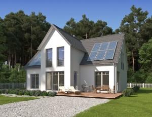 Bild: ADOS 19 Bauweise: Bau vor Ort, traditioneller Hausbau Bauart: Massivhaus, Porenbetonsteine