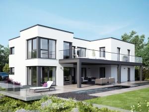 Bild: CELEBRATION 282 V4 Bauweise: Fertighaus, industrielle Vorfertigung Bauart: Holzhaus, Holztafelbau