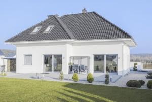 Bild: Bungalow-MV 04 Bauweise: Bau vor Ort, traditioneller Hausbau Bauart: Massivhaus, Porenbetonsteine