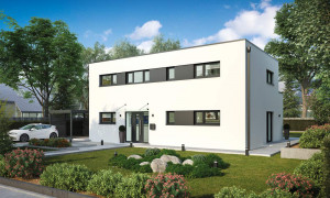 Bild: Weimar Bauweise: Bau vor Ort, traditioneller Hausbau Bauart: Massivhaus, Ziegelsteine
