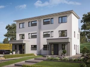 Bild: CELEBRATION 122 V5 XL Bauweise: Fertighaus, industrielle Vorfertigung Bauart: Holzhaus, Holztafelbau