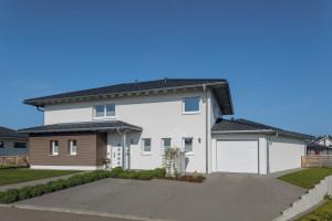 Bild: Haus Faber Bauweise: Bau vor Ort, traditioneller Hausbau Bauart: Massivhaus, Porenbetonsteine