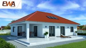 Bild: EWA Bungalow Usedom Bauweise: Bau vor Ort, traditioneller Hausbau Bauart: Massivhaus, Ziegelsteine