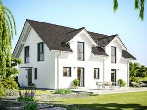 Bild: CELEBRATION 207 V4 Bauweise: Fertighaus, industrielle Vorfertigung Bauart: Holzhaus, Holztafelbau