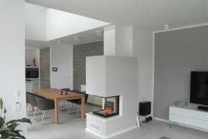 Bild: INNENAUSBAU WOHNEN bei BÄRENHAUS  Bauweise: Fertighaus, industrielle Vorfertigung Bauart: Holzhaus, Fachwerk