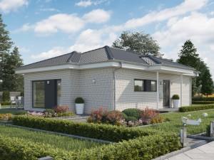 Bild: SOLUTION 82 V3 Bauweise: Fertighaus, industrielle Vorfertigung Bauart: Holzhaus, Holztafelbau