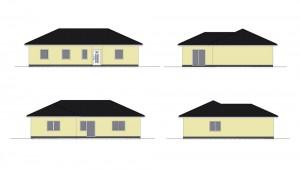 Bild: EWA Bungalow Darss Bauweise: Bau vor Ort, traditioneller Hausbau Bauart: Massivhaus, Ziegelsteine