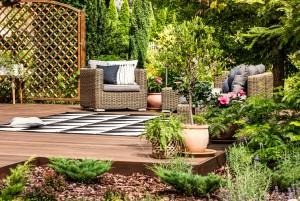 Die perfekte Sitzgelegenheit im Garten
