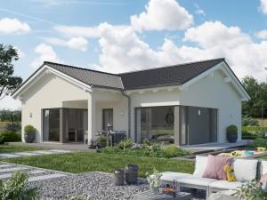 Bild: SOLUTION 82 V2 Bauweise: Fertighaus, industrielle Vorfertigung Bauart: Holzhaus, Holztafelbau