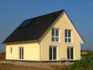 Bild: ADOS 100 Bauweise: Bau vor Ort, traditioneller Hausbau Bauart: Massivhaus, Porenbetonsteine