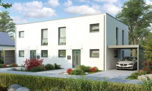 Bild: Glasgow Bauweise: Bau vor Ort, traditioneller Hausbau Bauart: Massivhaus, Ziegelsteine
