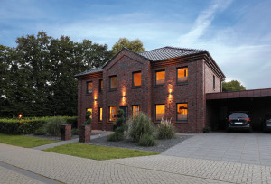 Bild: Haus Dorn Bauweise: Bau vor Ort, traditioneller Hausbau Bauart: Massivhaus, Porenbetonsteine