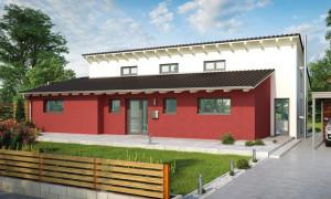 Bild: Cuxhaven Bauweise: Bau vor Ort, traditioneller Hausbau Bauart: Massivhaus, Ziegelsteine