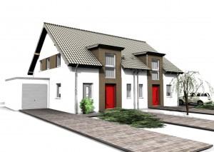 Bild: ADOS D20 Bauweise: Bau vor Ort, traditioneller Hausbau Bauart: Massivhaus, Porenbetonsteine