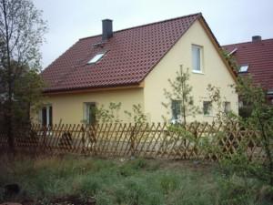Bild: Kleines Familienhaus Bauweise: Bau vor Ort, traditioneller Hausbau Bauart: Massivhaus, Porenbetonsteine