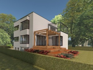 Bild: Wohnhaus Wirt Bauweise: Bau vor Ort, traditioneller Hausbau Bauart: Massivhaus, Porenbetonsteine