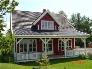 Bild: Arne 100 Bauweise: Fertighaus, industrielle Vorfertigung Bauart: Holzhaus, Fachwerk