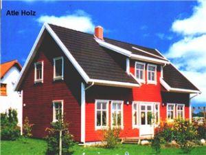 Bild: Atle Bauweise: Fertighaus, industrielle Vorfertigung Bauart: Holzhaus, Fachwerk