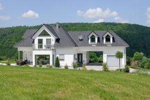 Bild: Exklusive Stadtvilla  Bauart: Holzhaus, Holzständerwerk