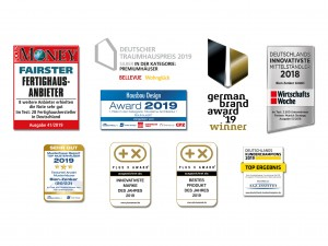 Bild: EDITION 134 V5 Bauweise: Fertighaus, industrielle Vorfertigung Bauart: Holzhaus, Holztafelbau