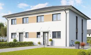 Bild: Dublin Bauweise: Bau vor Ort, traditioneller Hausbau Bauart: Massivhaus, Ziegelsteine