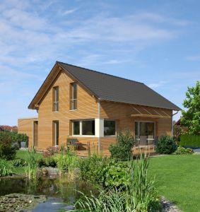 Bild: Klassisch & Fein Bauweise: Fertighaus, industrielle Vorfertigung Bauart: Holzhaus, Fachwerk