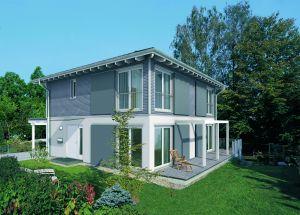 Bild: Stadthaus  Bauart: Holzhaus