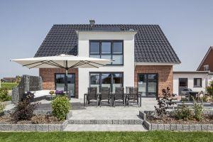 Bild: Haus Arnold Bauweise: Bau vor Ort, traditioneller Hausbau Bauart: Massivhaus, Ziegelsteine