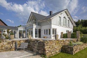 Bild: Haus Günther Bauweise: Bau vor Ort, traditioneller Hausbau Bauart: Massivhaus, Ziegelsteine