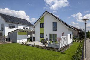 Bild: Haus Maiwald Bauweise: Bau vor Ort, traditioneller Hausbau Bauart: Massivhaus, Ziegelsteine