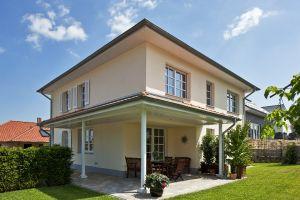 Bild: Haus Quirin Bauweise: Bau vor Ort, traditioneller Hausbau Bauart: Massivhaus, Ziegelsteine