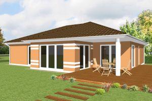 Bild: Konzept B600  Bauart: Massivhaus