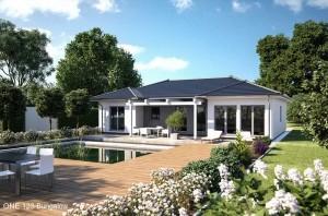 Bild: ONE 123 Bauweise: Fertighaus, industrielle Vorfertigung Bauart: Holzhaus, Fachwerk