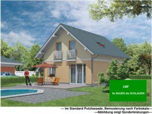 Bild: CEF 116 KOMPAKT Bauweise: Fertighaus, industrielle Vorfertigung Bauart: Massivhaus, Porenbetonsteine