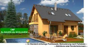 Bild: CEF 120 NERO Bauweise: Fertighaus, industrielle Vorfertigung Bauart: Massivhaus, Porenbetonsteine