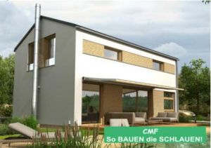 Bild: CEF MONTREAL 3-96 Bauweise: Fertighaus, industrielle Vorfertigung Bauart: Massivhaus, Porenbetonsteine