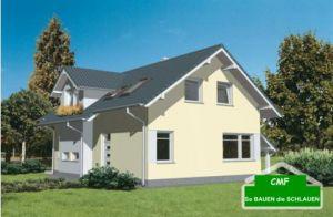 Bild: CMF Aktuell 35 CEF MODERN 119 Bauweise: Fertighaus, industrielle Vorfertigung Bauart: Massivhaus, Porenbetonsteine