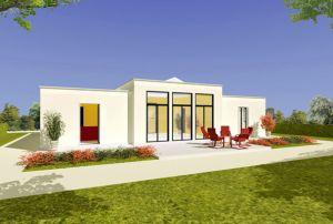 Bild: Haus ATR07-07  Bauart: Holzhaus, Holzständerwerk